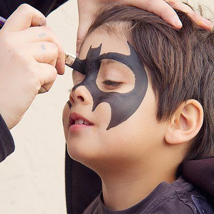 Superhero Face Painting