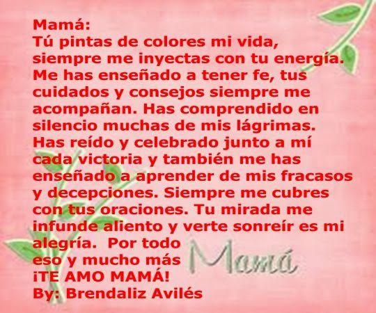 Poemas Para Mama En Su Cumple Años De feliz cumple párr mama Tarjetas de cumpleaños Pinterest