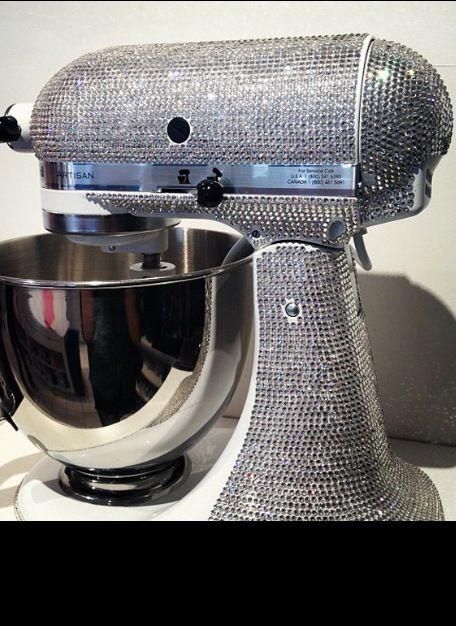 Bedazzled Kitchen Appliances