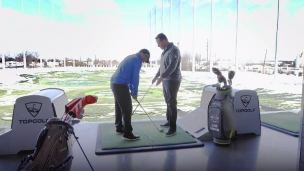 GOLF Live's Ryan Asselta visits the Edison, New Jersey Topgolf, utilizing its various targets to show you how to set up your aim perfectly.
