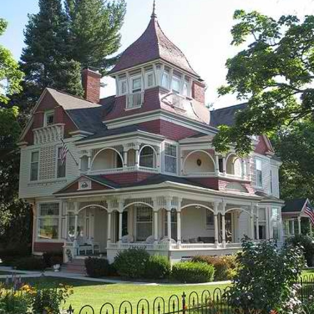 Porches Wrap Around Porches And Victorian On Pinterest: #victorian #wraparound Porch