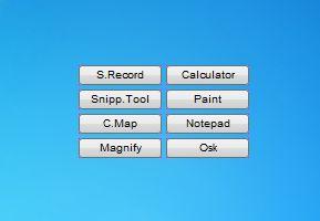 Tools Panel Extended - Windows 7 Desktop Gadget