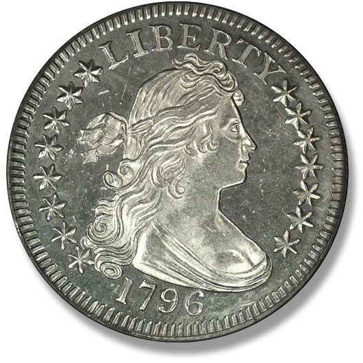 Draped Bust. Small Eagle. 1796