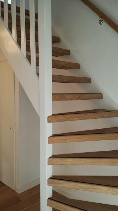 25 beste idee n over open trap op pinterest trap verbouwen kelder stappen en trapleuningen - Huis met trap ...