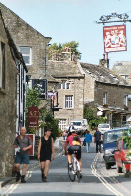 Grassington, in the Yorkshire Dales-North Yorkshire