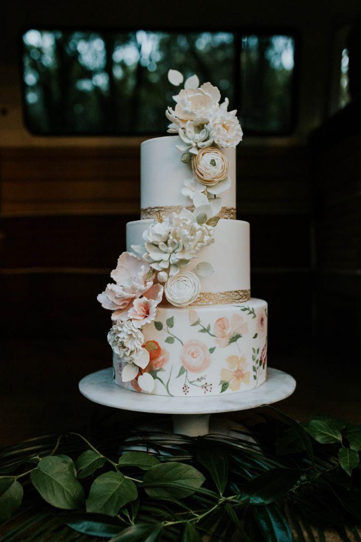 The Best Gold Round Wedding Cakes Ideas On Pinterest Round