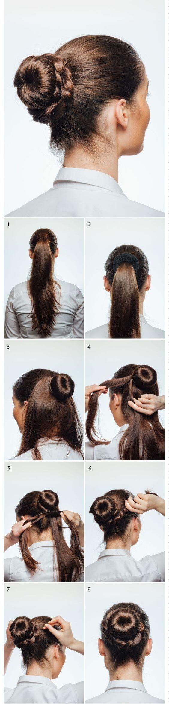 Kurtarıcı saç modellerinden donut topuzun nasıl yapıldığını bu rehberimizden öğrenebilirsin.