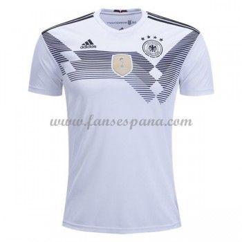Camisetas De Futbol Selección Alemania Copa Mundial 2018 Primera Equipación f93e9841cfc00