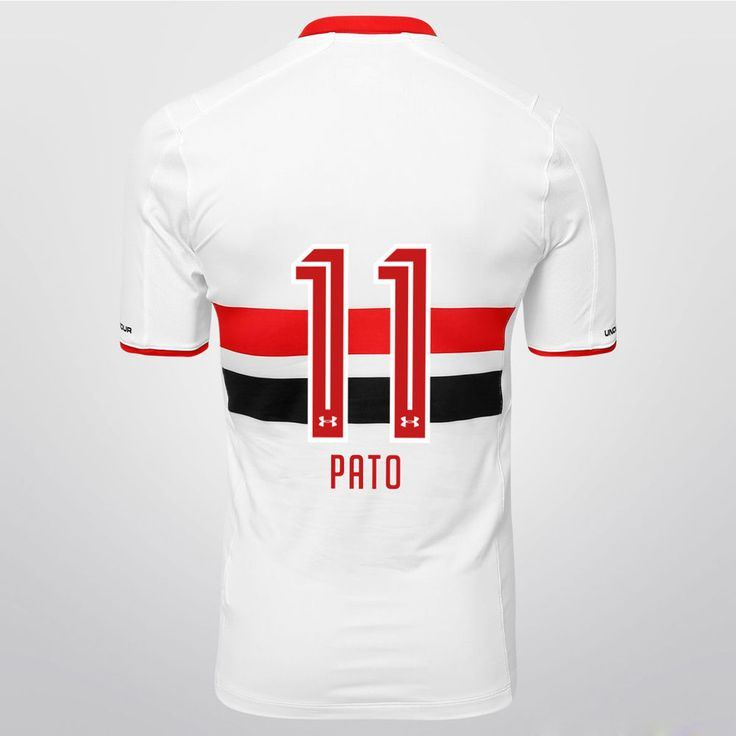 São Paulo Alexandre Pato 2015 Jersey Brazil Soccer Football Maglia Under Armour #UnderArmour