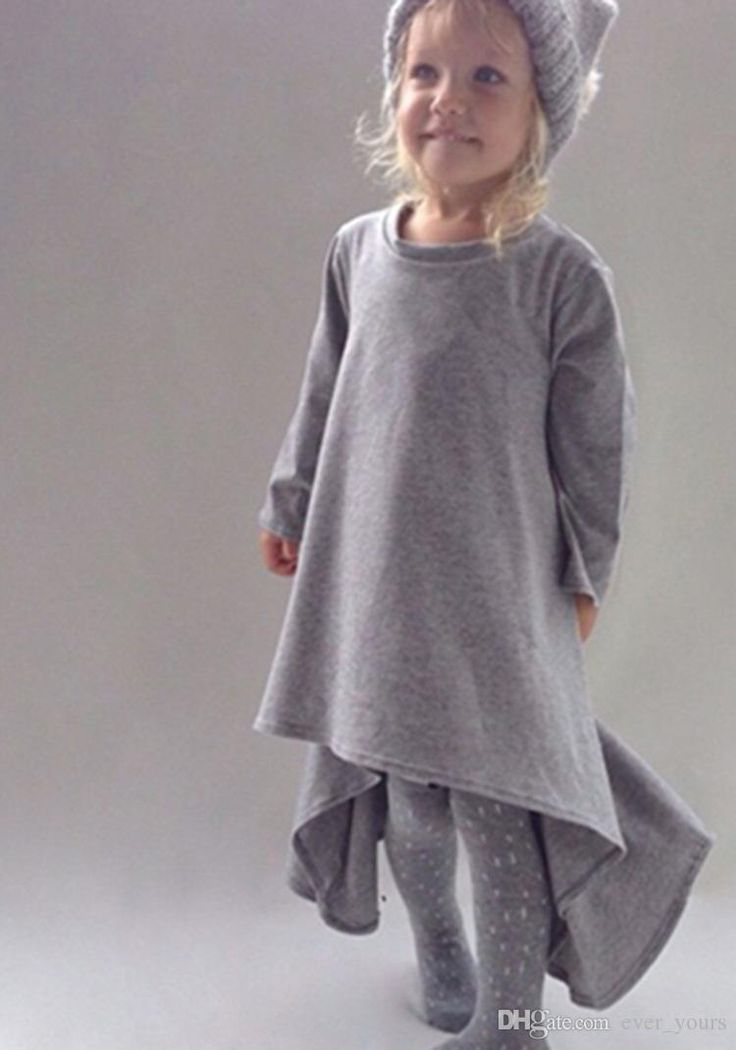 Minimalist Style Kids Frock Design Colorful Fashion Kids Dress 360 Degree Cotton Little Girls Dresses Kids Frock Designs From Ever_yours, $18.97 | Dhgate.Com
