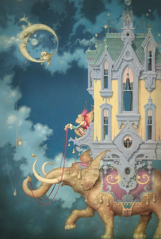 Daniel Merriam. saw this today. i want! a print will do since the original is not logical$$$. baby nursery? :D