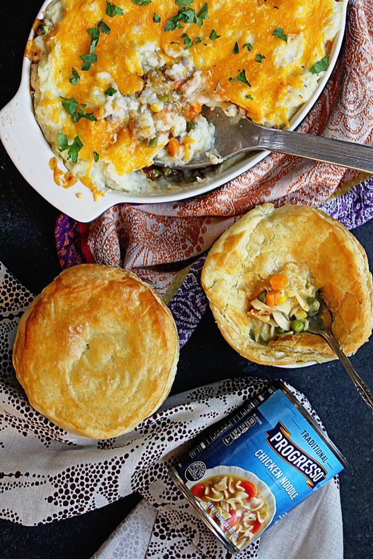 Savory Pies like Pot Pie and Shepherd's Pie made easy with Progresso! | Grandbaby Cakes