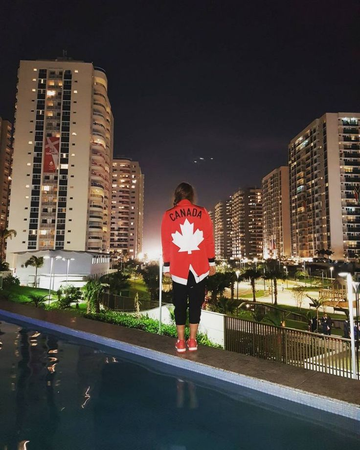 Rio Opening Ceremony: Behind the scenes with the Olympians - Kennedy Goss   Canada   Swimming Proud to be a Canadian #rio2016 @kennedygoss/Instagram