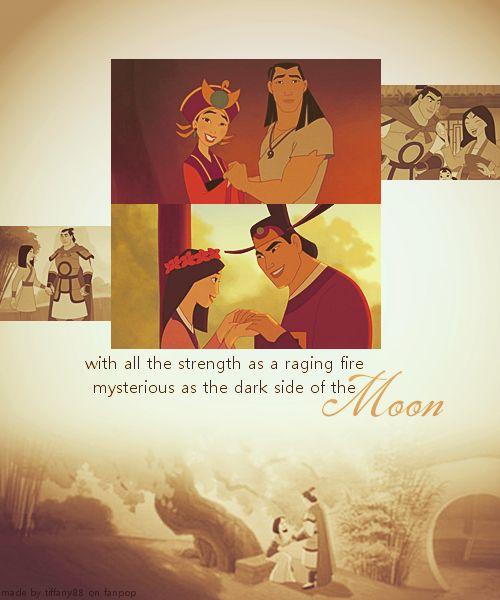 Disney Couples - Mulan and Shang - My Favorites :)