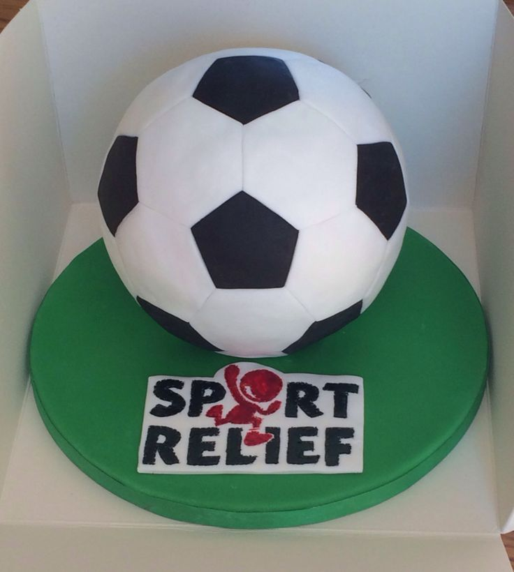 Sport Relief cake