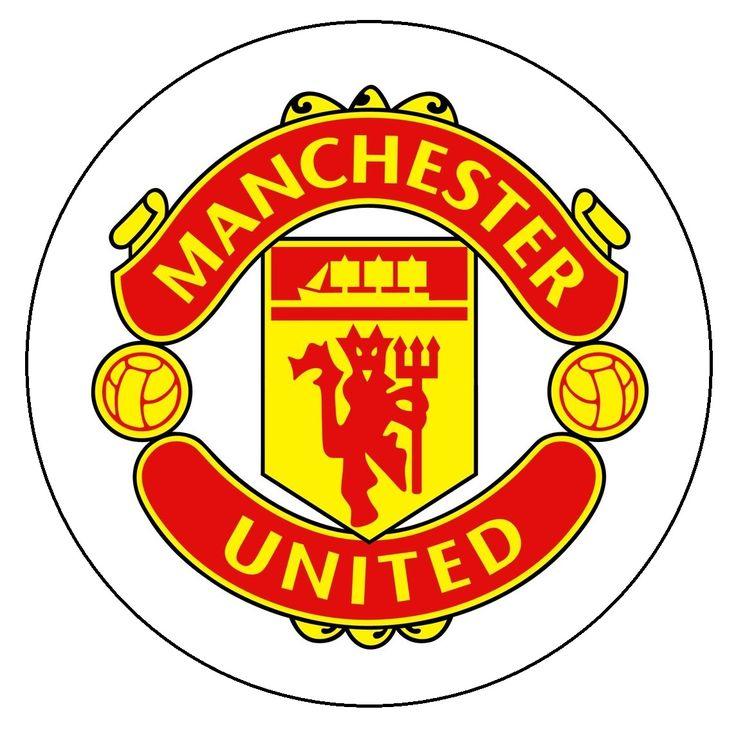 Image for Manchester United Logo Cake Topper