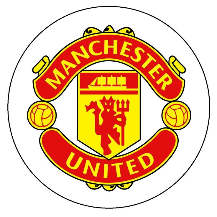 Image for Manchester United Logo Cake Topper