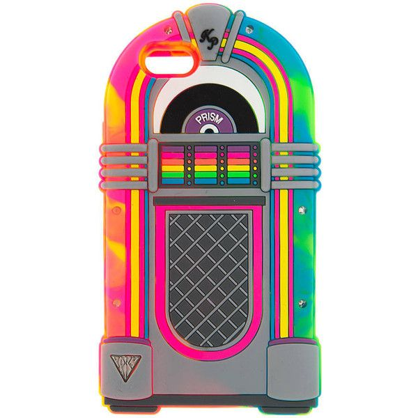 Katy Perry 3D Light Up Neon Jukebox Cover for iPhone 6 ($15) ❤ liked on Polyvore featuring accessories, tech accessories, phone case, phone, iphone and tech
