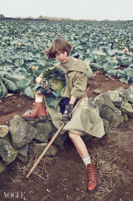 """""""Hard Workers"""" Vogue Korea 2015"""