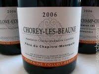 Domaine Tollot-Beaut Chorey-les-Beaune, Cote de Beaune, France label
