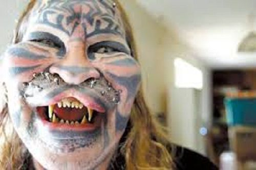 Dennis Avner Plastic Surgery Disaster: He Wanted to be a Living Totem Pole