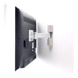 IKEA - UPPLEVA, Wall bracket för TV, tilt/swivel, , , The built-in level makes it easy for you to hang your TV straight.