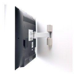 IKEA - UPPLEVA, Soporte pared TV inclin/girat,  , , Tiene un nivel integrado para que puedas colgar la TV recta.