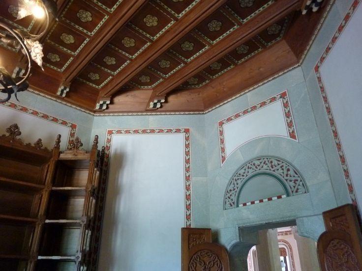 Castel Savoia - sala di lettura