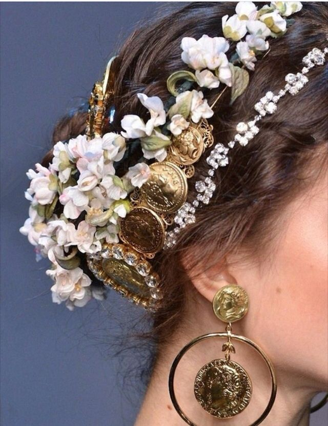 Dolce and Gabbana Spring 2014// art nouveau, #Andre1900