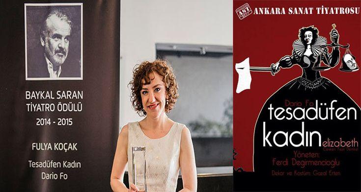 Fulya Koçak'ın Oyunculuğuna Ödül http://724kultursanat.com/fulya-kocak-yilin-tiyatro-sanatcisi-odulu/