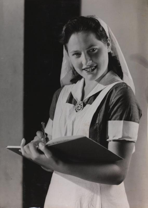 Винтажная медсестра.