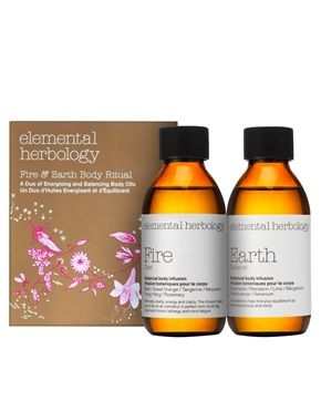 Image 1 ofElemental Herbology Fire & Earth Body Duo SAVE 30%