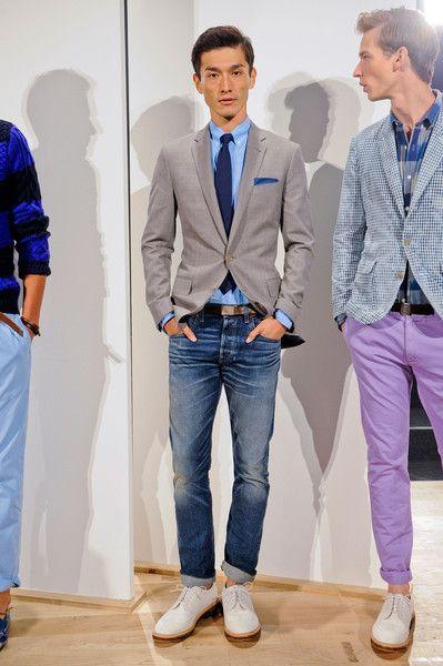 J Crew Mens At New York Fashion Week Spring