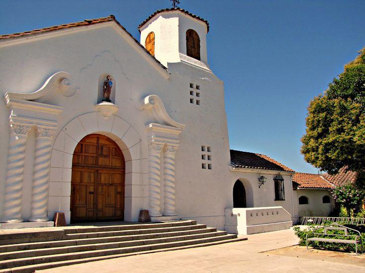 Iglesia de Cunaco antes del terremoto de 2010 Pueblo cercano a Santa Cruz