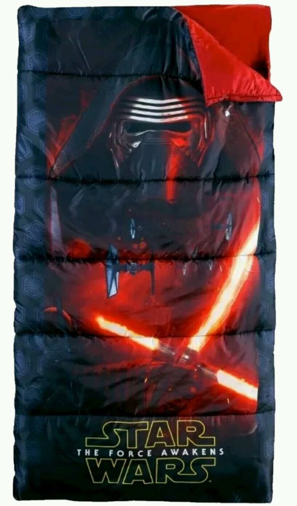 Star Wars The Force Awakens Childrens Camp Sleeping Bag Disney New