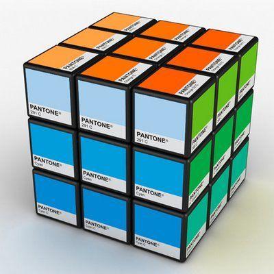 Pantone Rubiks Cube.