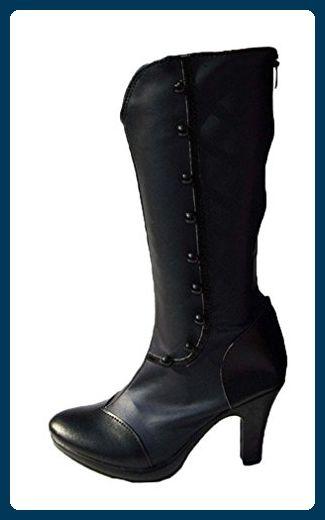 Bromeo Black Butler Kuroshitsuji Demon Ciel Cosplay Schuhe Stiefel Stiefeletten - Stiefel für frauen (*Partner-Link)