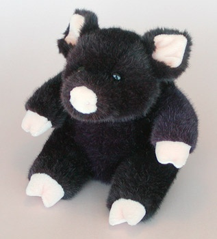 Burgundy MANHATTAN TOY Piggy (009022)
