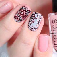 Beste Möglichkeiten, um Ihre Nägel mit schönen Blumen zu schmücken – Frau …..   – Nageldesign