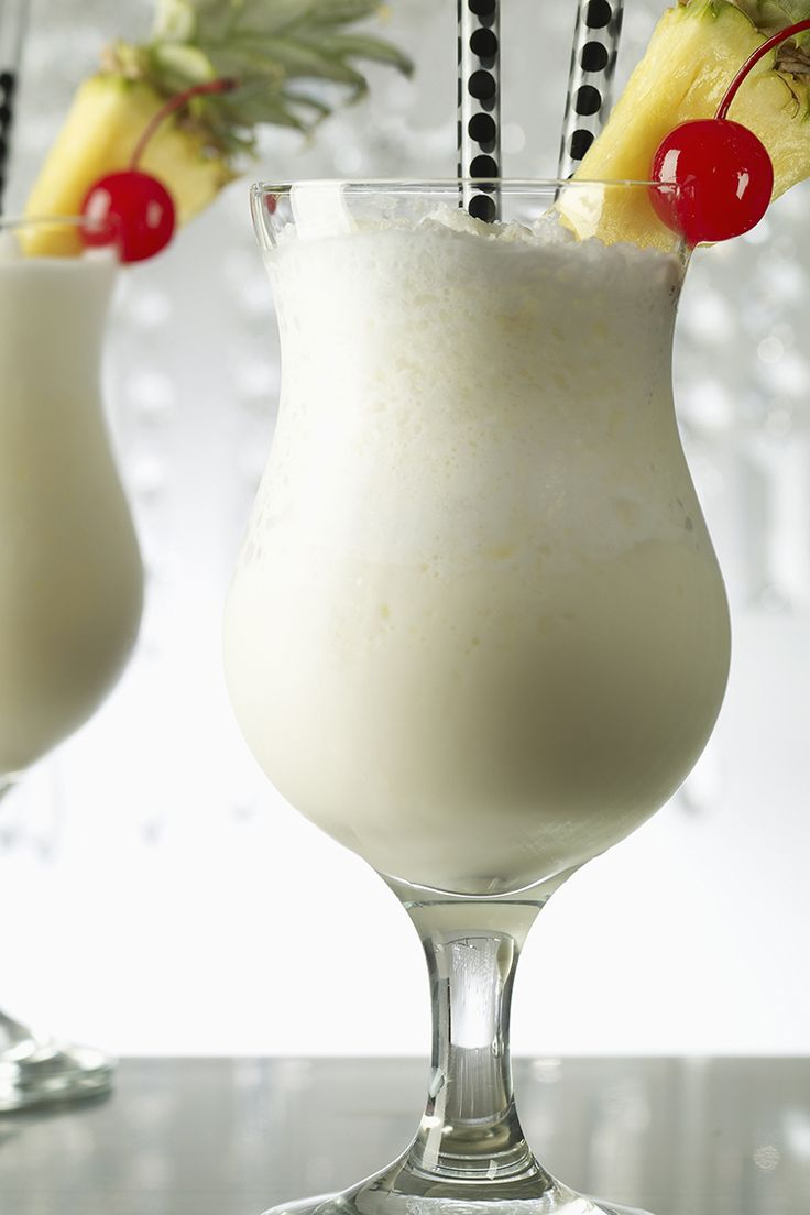 Blend up a frozen Pina Colada and escape to the tropics for a few minutes.