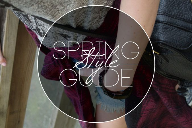 Spring Style Guide - A lookbook full of trends, styles & looks for men, women & kids! Take a look at the hottest trends for the spring! http://www.premiumlabel.ca/outlet/news/spring-style-guide