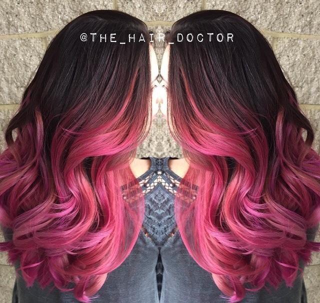 FORMULA: Rose Ombre | Modern Salon #ombre #haircolor