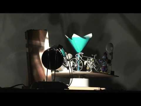 Christian Boltanski's shadow puppets