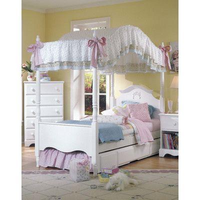 Girls Canopy Bedroom Sets