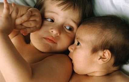 Prepare your older child to share his room with the new baby. Credit: GettySometimes kids have to share a bedroom, but what can you do to help your