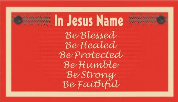 In Jesus Name Faith Cards Cards Instant Download by TiStephani