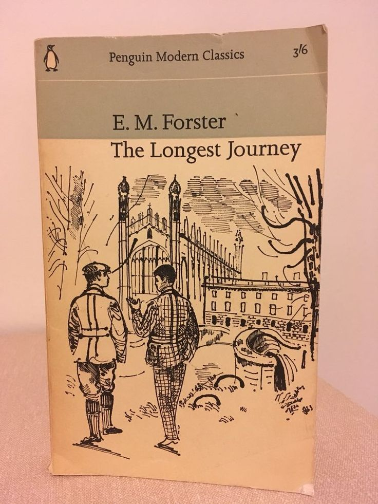 "Vintage Penguin Modern Classic #1470 ""The Longest Journey"" by E.M. Forster  