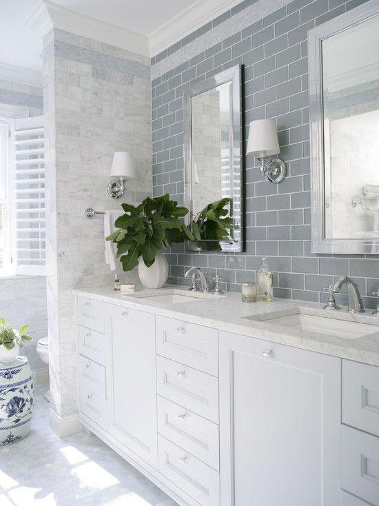 bath 4 | Subway Tile | Kitchen Design | Bathroom Ideas | Home Interior