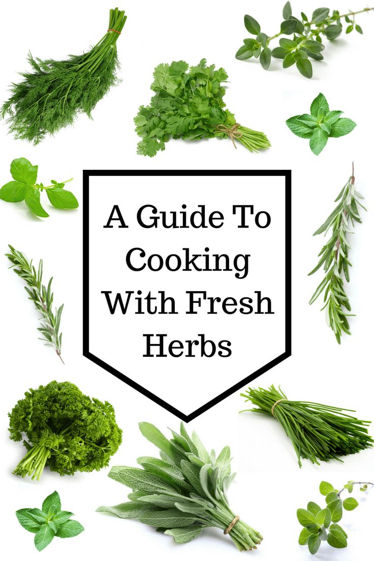Everything you need to know about cooking with fresh herbs including how to wash, how to store, how to freeze, and which herbs to use with which dishes.