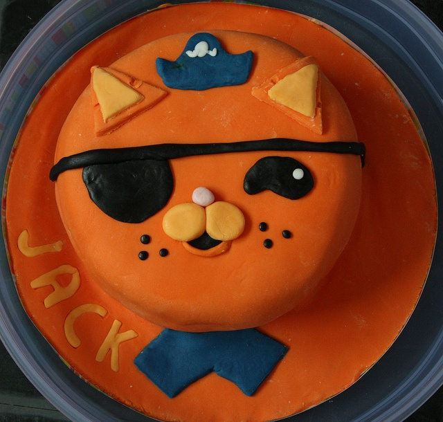 Kwazii by *Kirsty, via Flickr. Another idea for Octonauts-birthday.